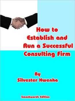 How to Establish and Run a Successful Consulting Firm
