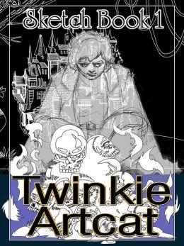 Twinkie Artcat Sketch Book 1