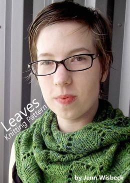 Leaves Shawl Lace Knitting Pattern