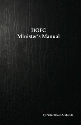 HOFC Minister's Manual
