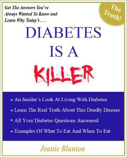Diabetes Is A Killer