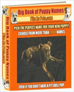 Big Book of Puppy Names