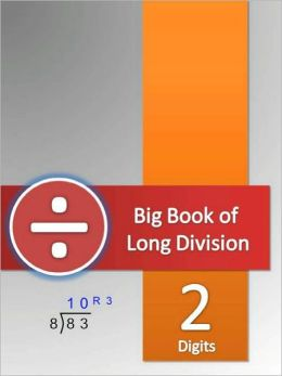 Big Book of Long Division Tests - 2 Digits