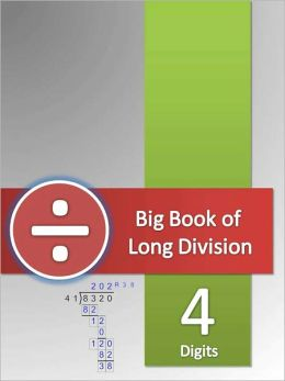 Big Book of Long Division Tests - 4 Digits