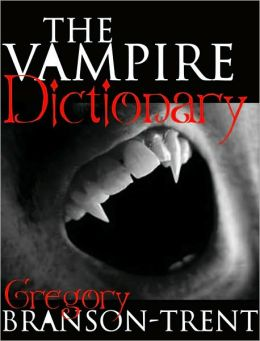 The Vampire Dictionary