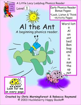 Al the Ant - Level 1 Phonics Reader