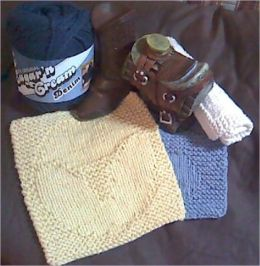 The Western Washcloth Pattern Set