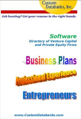 Software Industry eBook Directory of Venture Capital and Private Equity Firms