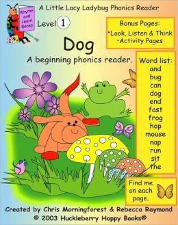 Dog - Level 1 Phonics Reader