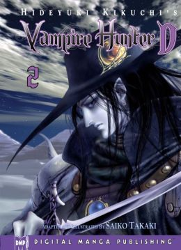 Hideyuki Kikuchi's Vampire Hunter D Manga Series, Volume 2 (Part 1 of 2) - Nook Color Edition