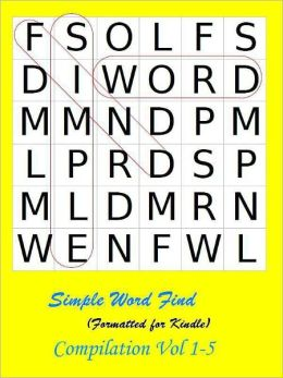 Simple Word Find Compilation: Vol 1-5