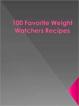 100 Favorite Weight Watchers Recipes