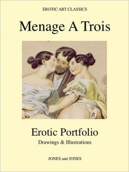 MENAGE A TROIS - Erotic Portfolio - Drawings & Illustrations