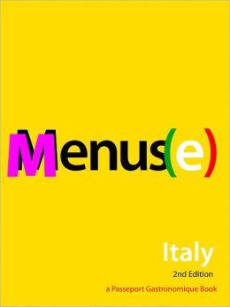 Menus(e): Italy