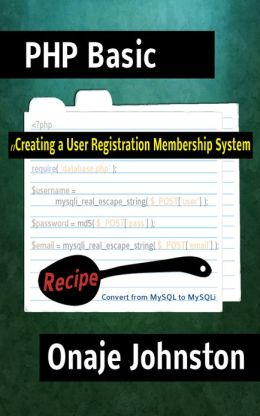 Creating a User Registration Membership System