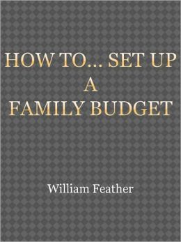 How to... Set up a Family Budget