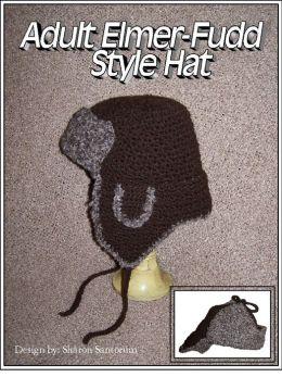 Adult Elmer Fudd Style Hat Crochet Pattern