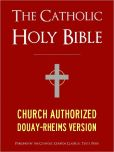 Book Cover Image. Title: THE CATHOLIC BIBLE CATHOLIC HOLY BIBLE - Church Authorized Douay-Rheims / Rheims-Douai / D-R / Douai Bible (Special Nook Edition):  Complete Old Testament & New Testament NOOKbook Catholic Church Authorized Version of the Holy Bible for Nook The Bible, Author: God