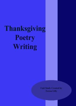 Thanksgiving Poetry Writing