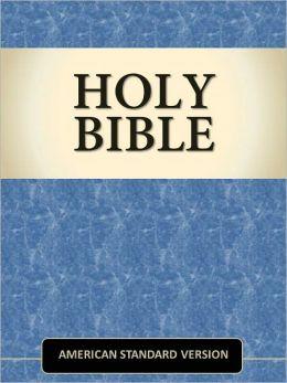 Holy Bible - American Standard Version (ASV) [Optimized for NOOK Navigation]