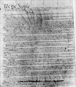 The Constitution of The United States And The Amendments to the Constitution