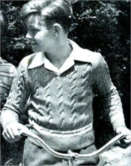 Homemade VintageKnitted Sweaters - Patterns For Boys