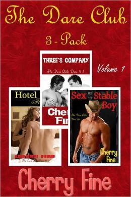 The Dare Club 3-Pack (Erotica/Erotic Romance)