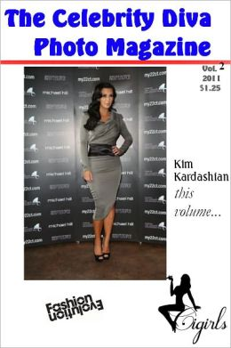 The Celebrity Diva Photo Magazine - Kim Kardashian - Book 1