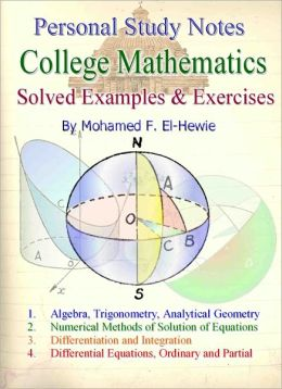 College Level Mathematics Personal Study Notes