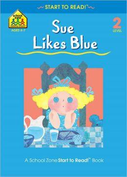 Sue Likes Blue - Level 2