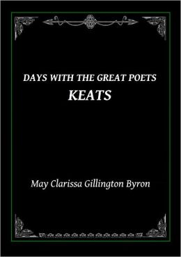 Days With The Great Poets Keats