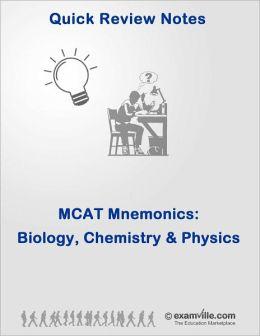Mnemonics for the MCAT