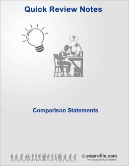 English Grammar - Comparison Statements