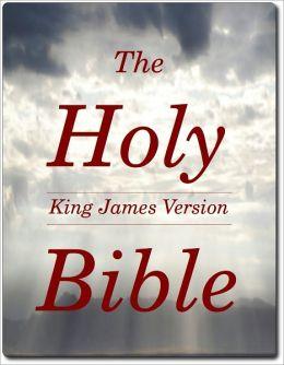 The Holy Bible ( King James Version / KJV / EasyIndex NOOKBook )