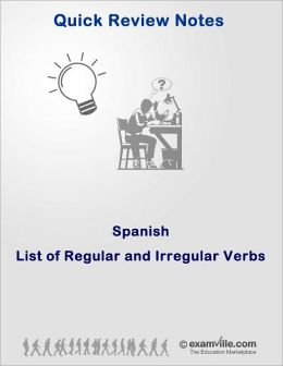 Learn Spanish: List of Regular and Irregular Verbs