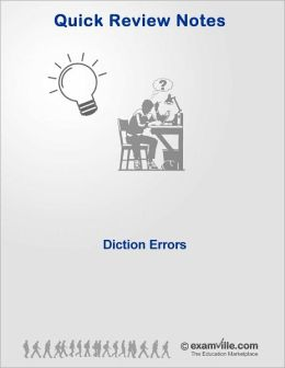 English Grammar - Diction Errors