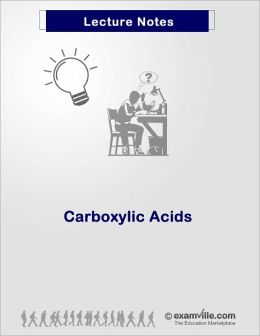 Organic Chemistry Review - Carboxylic Acid