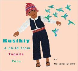 Kusikiy A Child from Taquile, Peru