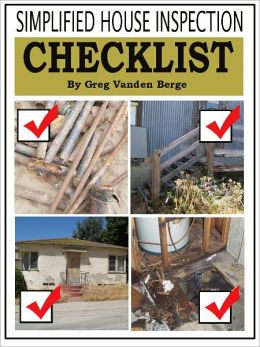 Simplified House Inspection Checklist