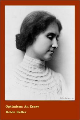Optimism by Helen Keller Book