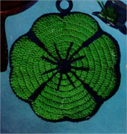 Crochet These Vintage Pot Holders Using Patterns From Days Gone By