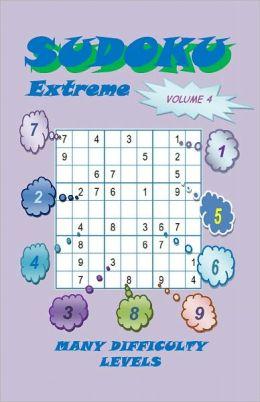 Sudoku Extreme, Volume 4