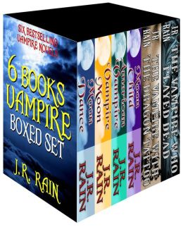 6-Book Vampire Boxed Set (Samantha Moon/Spinoza)