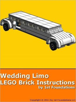 Wedding Limousine - LEGO Brick Instructions by 1st Foundations