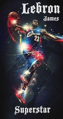 LeBron James: NBA Superstar