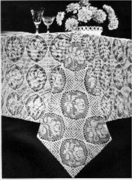 Vintage Tablecloth Patterns To Crochet