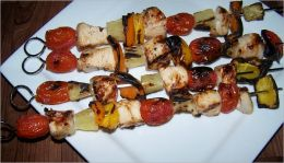 Making Chicken Kabobs - An Illustrated Guide