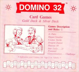 DOMINO 32 Card Games : Description & Rules with 7 rainbow-color Dragon Dances (Pai Gow, Tien Gow, Bagchen...related)