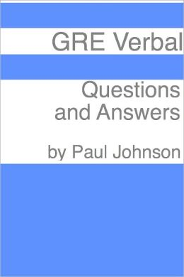 GRE Verbal: 250 Questions & Answers