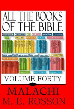 All the Books of the Bible-Malachi